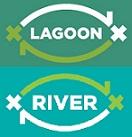 Loghi X River e X Lagoon