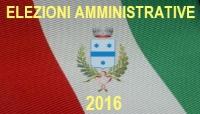 Logo delle Elezioni Amministrative Comunali 2016