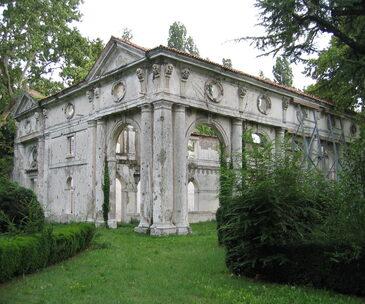 particolare di Villa Ivancich
