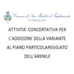 ATTIVITA' CONCERTATIVA PER L'ADOZIONE DELLA VARIANTE AL PIANO PARTICOLAREGGIATO DELL'ARENILE ART. 18 COMMA 2 L.R. 11/2004
