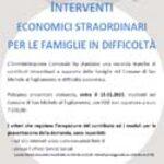 locandina interventi economici