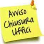 CHIUSURA LOGO